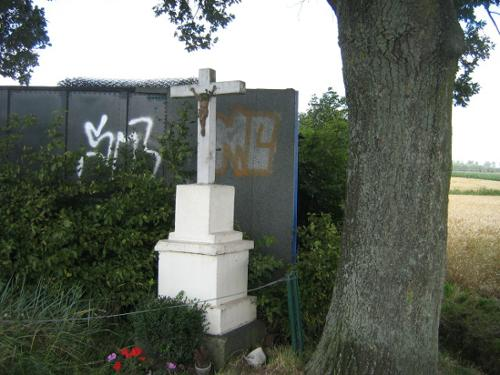 Memoriekruis Karlogweg bocht Padweg